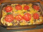 overnight scrambled egg bake