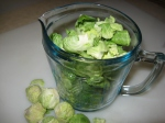 Brussels Sprouts in Cup (1)