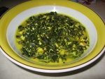 Greens Simmered in Yogurt