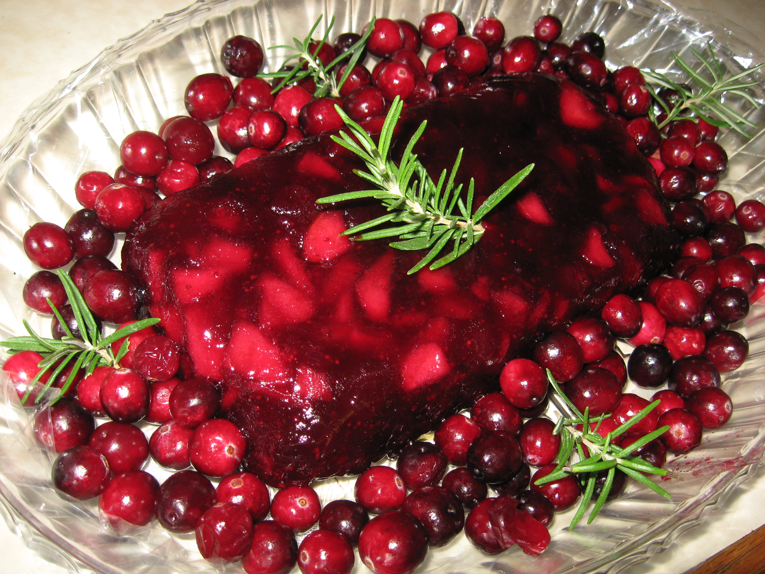 Cake Recipes With Jellied Cranberry Sauce