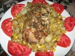 roast pork with sage potatoes corn (15)