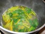 beet greens cooking