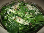spinach on toppork