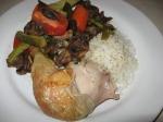 plated chicken fryer casserole